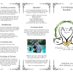 Wedding Ceremony Trifold Exterior