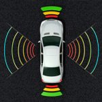 Autonomous Vehicle Sensors Challenge Icon
