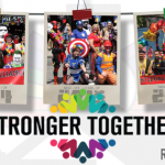 IA's Stronger Together Pride Parade Slide